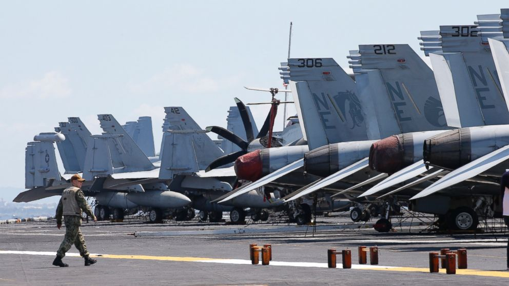 US Navy says China's military buildup won't stop patrols