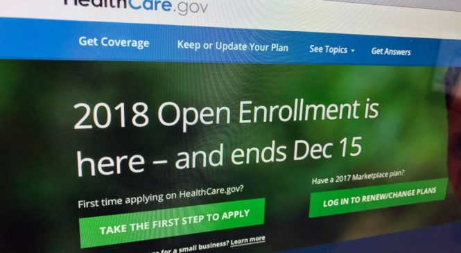 AP count: Nearly 11.8M enroll for Obama health law in 2018