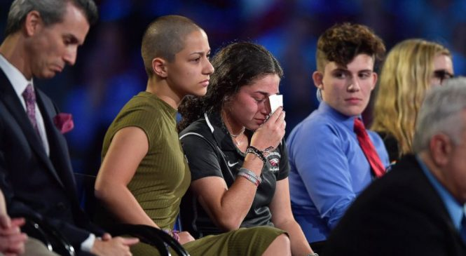 Shooting survivors endure new assault – from online trolls