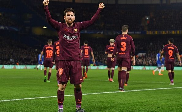 Chelsea 1-1 Barcelona: Messi breaks his duck to earn Stamford Bridge draw for Barca