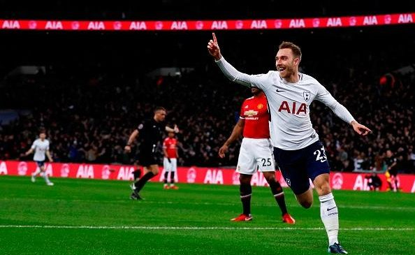 Ledley King tweets about his fastest goal following Christian Eriksen's strike against Manchester United