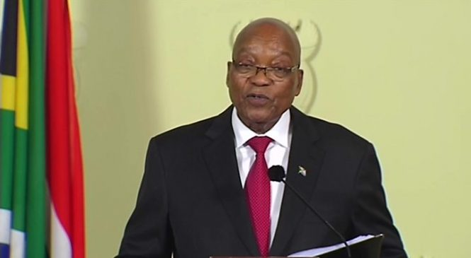 South Africa's President Jacob Zuma resigns