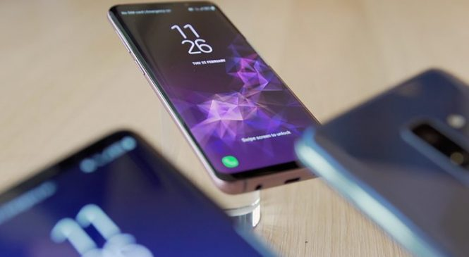 Samsung Galaxy S9 focuses on the camera
