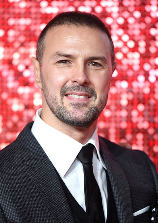 Paddy McGuinness smiling