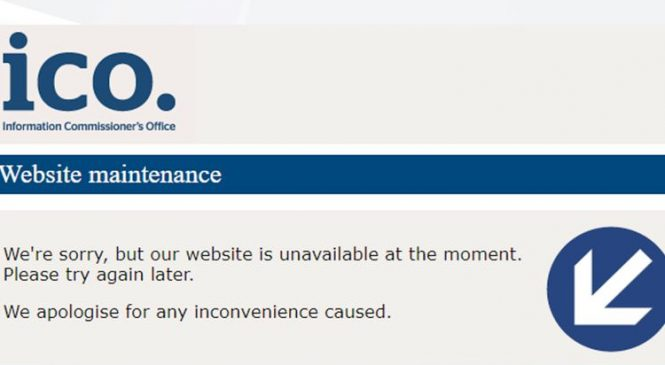 UK Government site goes offline after hack