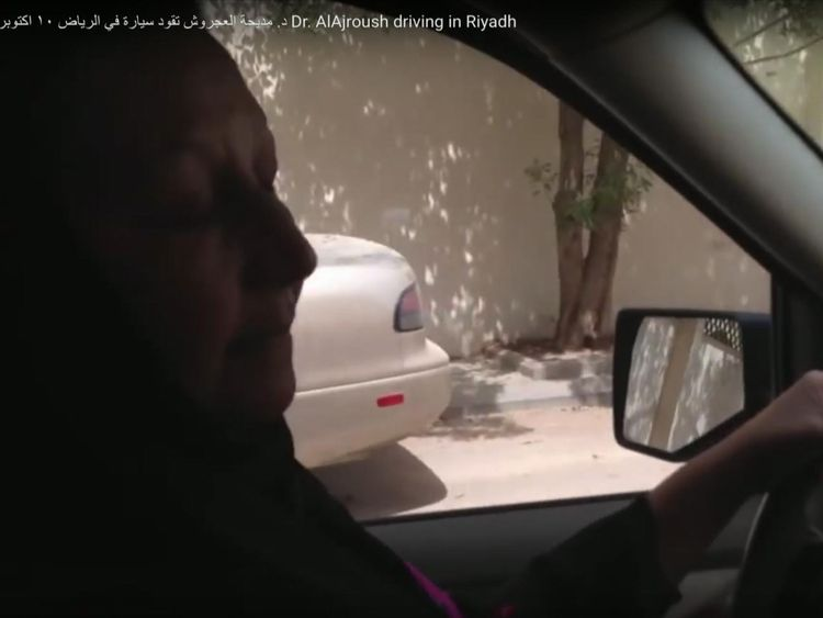 Activist Mediha al Ajroush will be allowed to drive for the first time in June