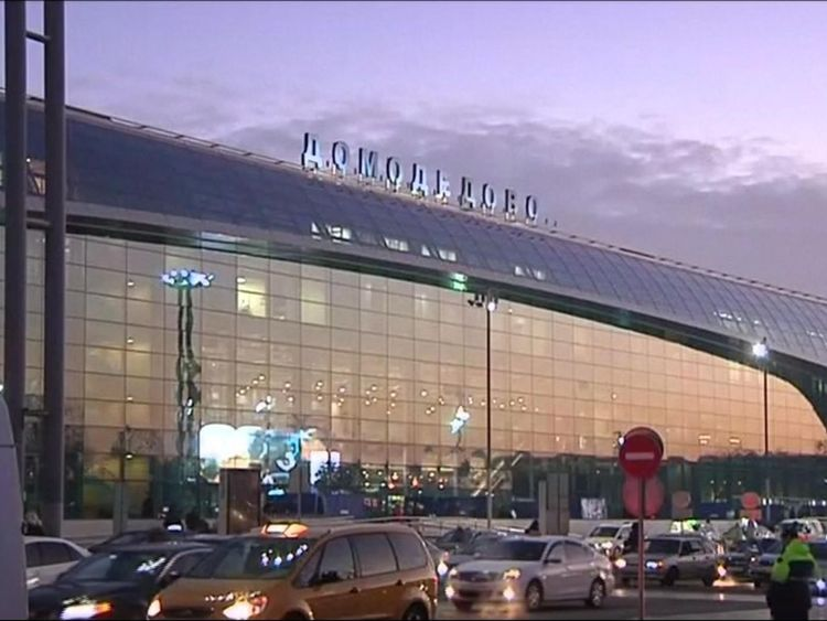Domodedovo Airport in Moscow