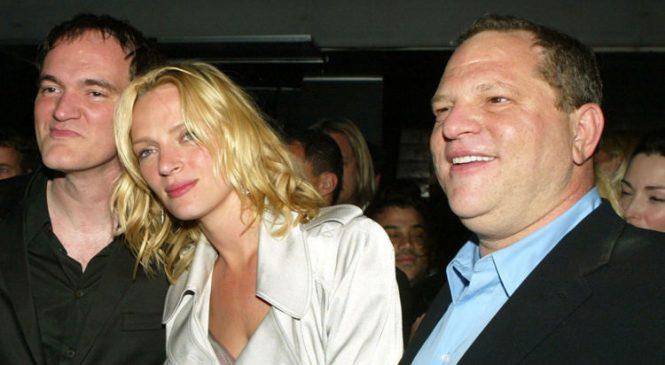 Thurman breaks silence on 'Weinstein abuse'