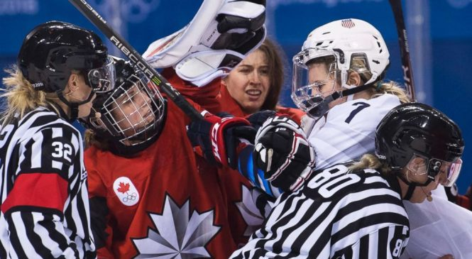 Olympics women's hockey rivalry heats up between US, Canada