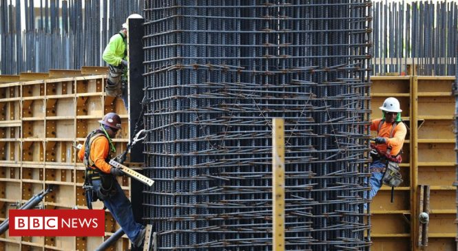 US job growth surges in February