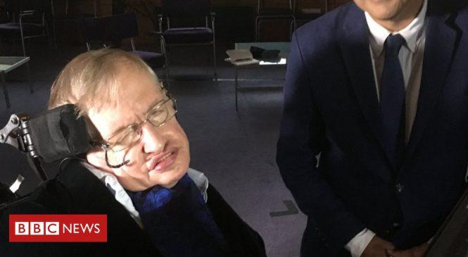 Stephen Hawking's final interview: A beautiful Universe