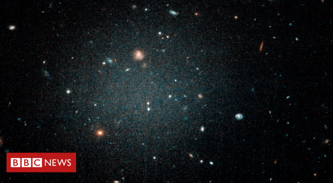 Ghostly galaxy may be missing dark matter