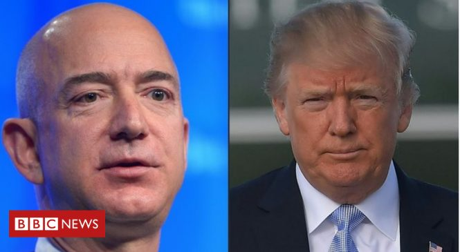 Donald Trump steps up attacks on Amazon