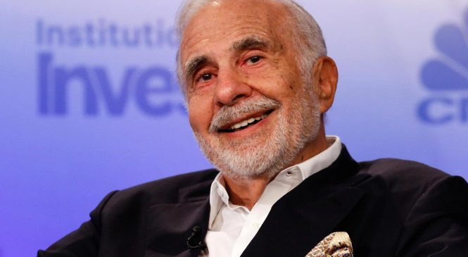 Icahn, with 6 percent of Newell Brands shares, hasn't decided which side he's on