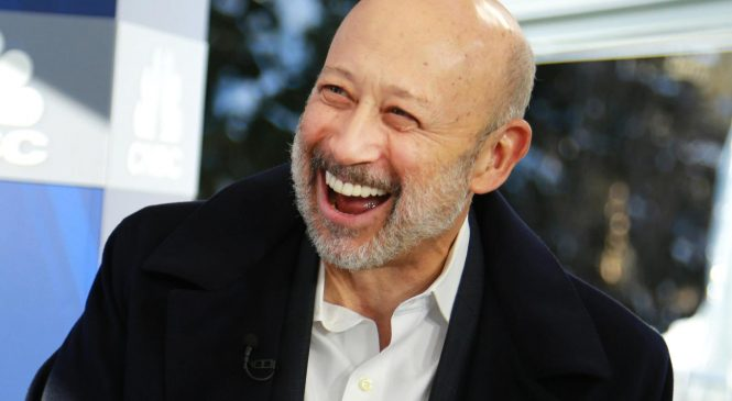 Blankfein jokes on Twitter that he feels like Huck Finn at his own funeral after WSJ reports he's leaving Goldman