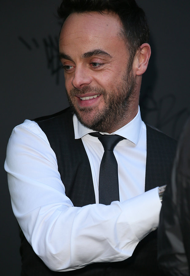 Ant McPartlin smiling