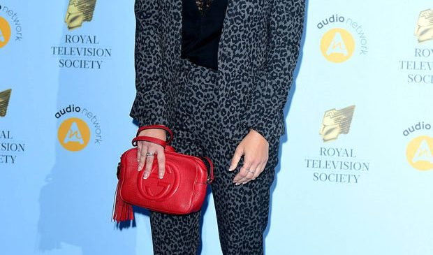 Caroline Flack takes the plunge in sheer top exposé