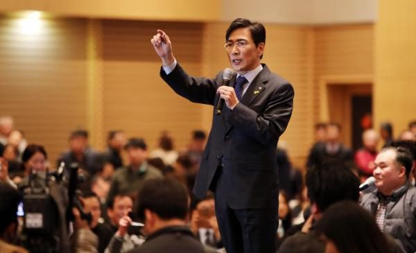 Potential presidential contender resigns in South Korea, after rape allegations