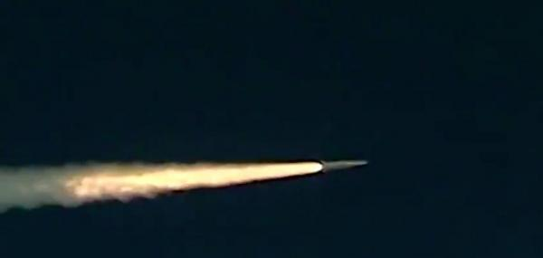 Russia test-fires Kinzhal hypersonic missile
