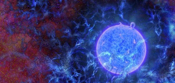 Search for first stars yields proof of dark matter