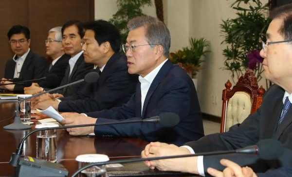 South Korean president: trilateral summit between Seoul, U.S., North Korea possible
