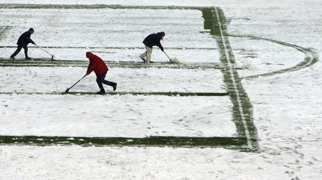 Which football matches have been postponed due to the 'Beast from the East'? Find out here