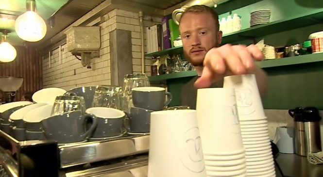 Ministers question 'latte levy' on cups