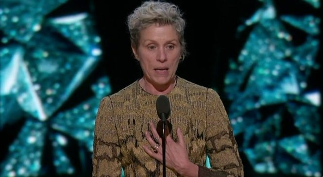 Shape of Water and Frances McDormand rule Oscars
