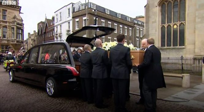 Prof Stephen Hawking funeral: Legacy 'will live forever'