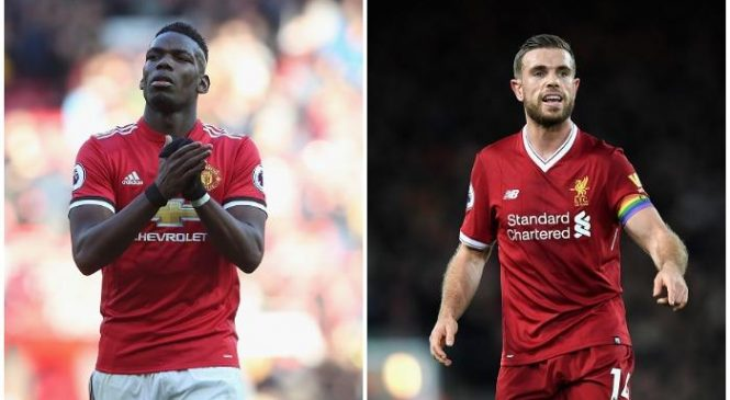 Manchester United v Liverpool combined XI: Pick your midfield
