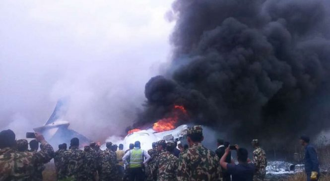 At least 49 killed after passenger jet catches fire after landing