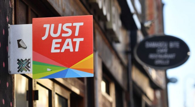 Just Eat shares plunge as it slumps to £76m loss