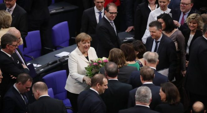 Merkel starts fourth term as German Chancellor