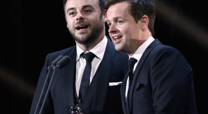 Nods to Ant's absence as Dec presents Takeaway solo
