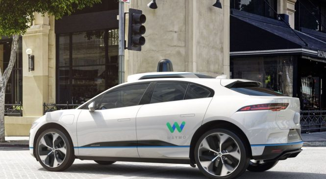 Waymo to buy 20,000 Jaguar electric cars