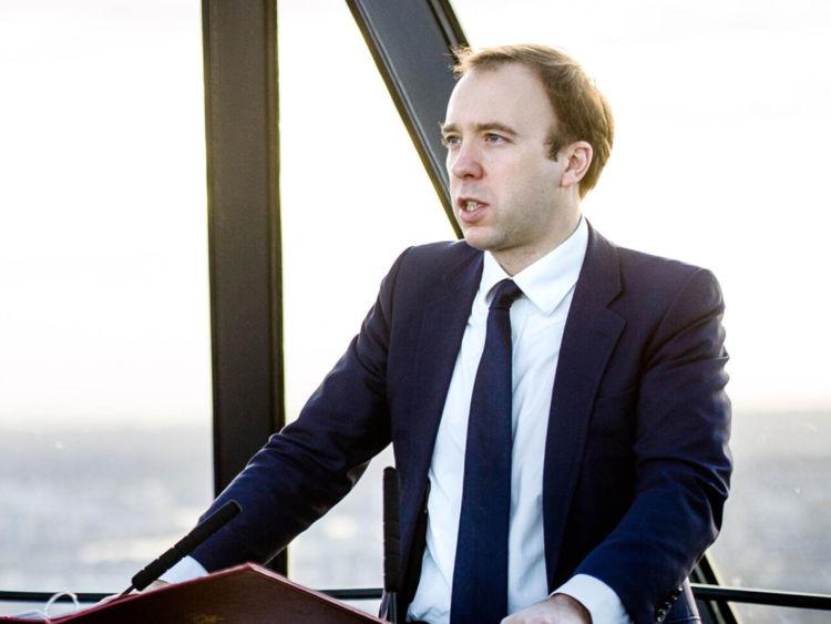Digital Secretary Matt Hancock
