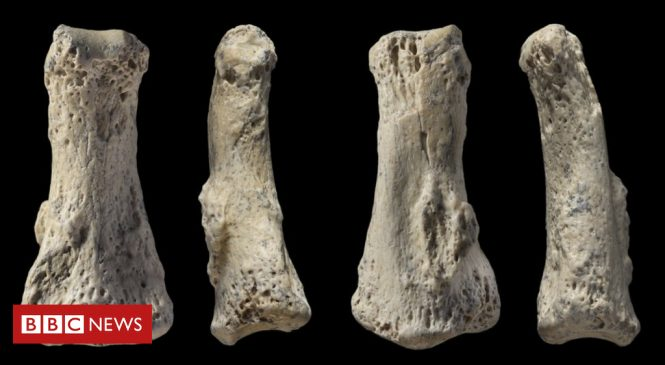 Finger bone points to early human exodus