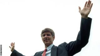 Arsene Wenger arrived at Arsenal in October 1996