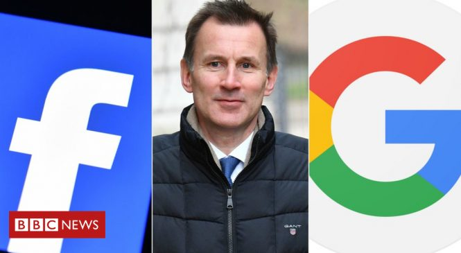 Jeremy Hunt threatens social media with new child-protection laws