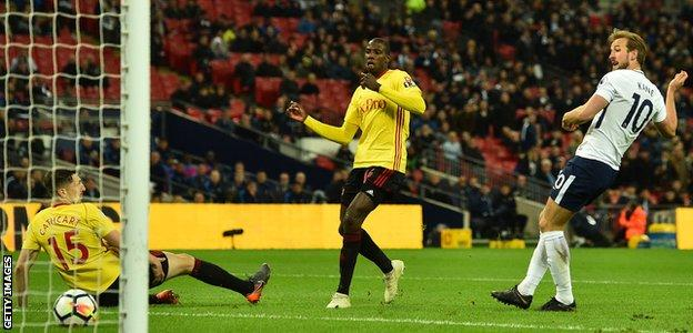 Alli and Kane help Spurs claim scrappy win over Watford