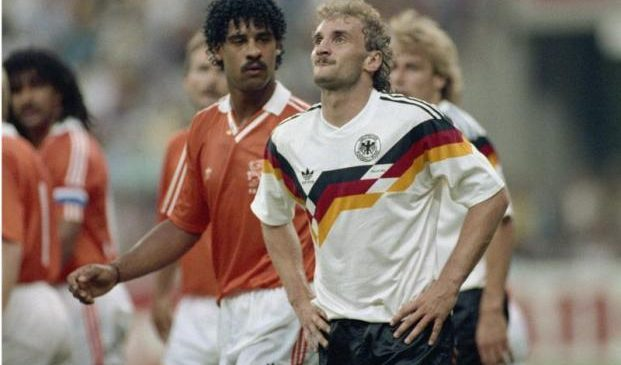 The World Cup's most iconic players: Dutch legend Frank Rijkaard who clashed with Rudi Voller in 1990