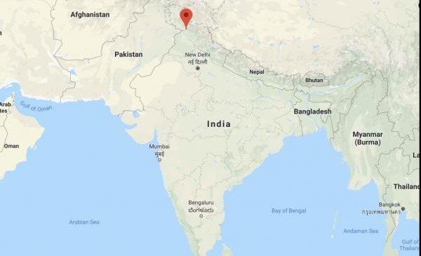 Indian school bus plunges into gorge, dozens of children dead