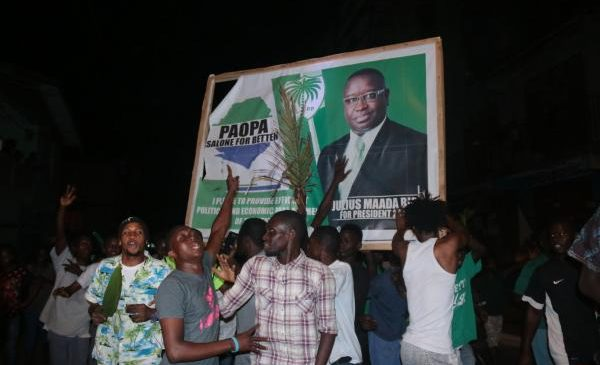 Julius Maada Bio elected president of Sierra Leone in runoff