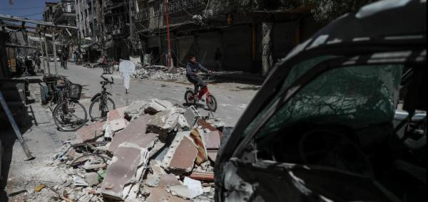 Syrian-allied airstrikes kill at least 27 in rebel-held Douma