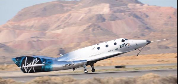 Virgin Galactic completes first rocket-powered Unity space craft launch
