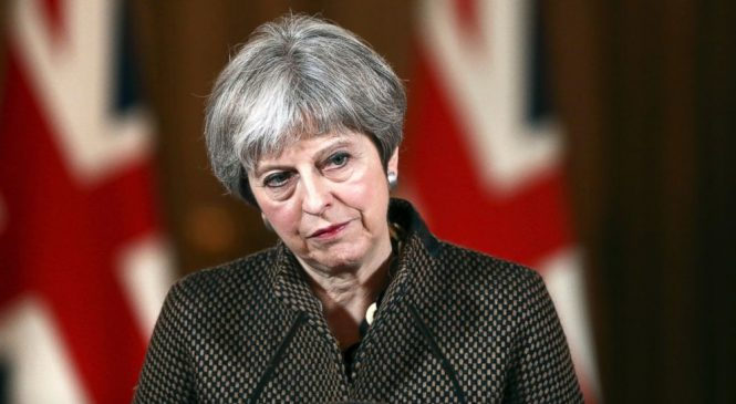 UK's May to face angry lawmakers over Syria airstrikes
