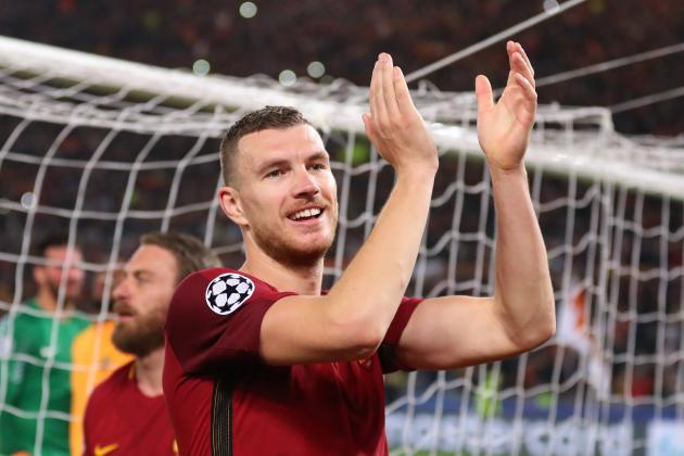 'Money doesn't matter' – Edin Dzeko 'very happy' he rejected Chelsea in January after helping Roma to Champions League semi-finals