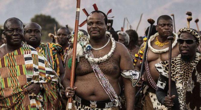 Swaziland king says the country 'will now revert to its original name'