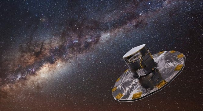 Gaia telescope's 'book of the heavens' takes shape