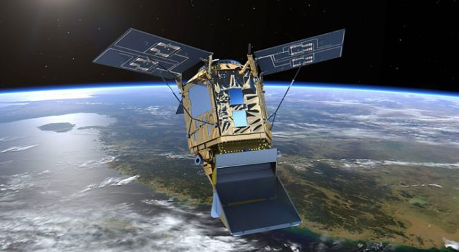 Sentinel tracks ships' dirty emissions from orbit